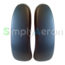 AERON Classic Black Vinyl Arm Pads (MK2)