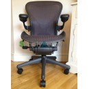 Purple Classic AERON Chair with POSTUREFIT (Mk2)