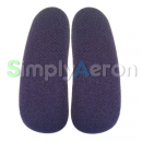 AERON Classic Purple Upholstered Arm Pads