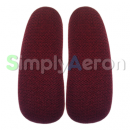 AERON Classic Red Upholstered Arm Pads
