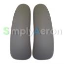 AERON Classic Grey Smoke Vinyl Arm Pads (MK2)